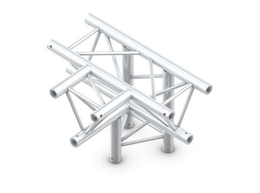 Structure trio té 4 directions pointe en bas - M222 QUICKTRUSS