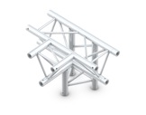 Structure trio té 4 directions pointe en bas - M222 QUICKTRUSS-structure-machinerie