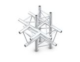 QUICKTRUSS • Trio M222 Té 5 directions pointe en bas + kit de jonction-structure-machinerie
