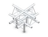 QUICKTRUSS • Trio M222 Croix 5 directions pointe en bas + kit de jonction-structure-machinerie
