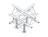 Structure trio croix 5 directions pointe en bas - M222 QUICKTRUSS-structure-machinerie