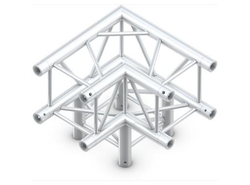 QUICKTRUSS • Quatro M290 Angle 90°série lourde 3 directions + kit de jonction