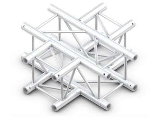 Structure quatro croix série lourde 4 directions - M290 QUICKTRUSS
