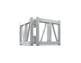 QUICKTRUSS • Trio/Quatro M290 Angle Variable (sans connecteurs)-structure-machinerie