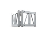 Structure trio/quatro angle variable (sans connecteurs) - M290 QUICKTRUSS-trio