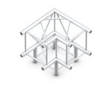 Structure quatro angle 90° 3 directions - M390 QUICKTRUSS-quatro