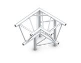 QUICKTRUSS • Trio M390 Angle 90° 3 directions droit pointe en bas + kit-structure-machinerie