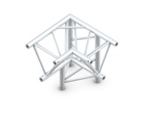 Structure trio angle 90° 3 directions droit pointe en bas - M390 QUICKTRUSS-structure-machinerie