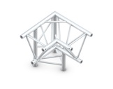 QUICKTRUSS • Trio M390 Angle 90° 3 directions gauche pointe en bas + kit-structure-machinerie