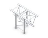QUICKTRUSS • Trio M390 Té vertical 3 directions pointe en bas + kit de jonction-structure-machinerie