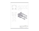Fixation murale pour series M390 Trio/Quatro - QUICKTRUSS-structure-machinerie
