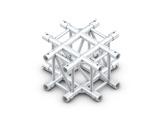 Structure rectangulaire croix 4 directions - M400 QUICKTRUSS-rectangulaire
