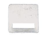 Contre plaque amovible • pour crochet Ø 50mm T050-crochets