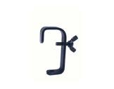 Crochet noir • pour tube Ø 50mm charge 40kg-crochets