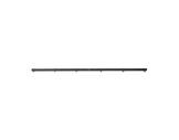 TEMA • Barre noire 7 trous M10 pour 6 à 12 projecteurs-accessoires
