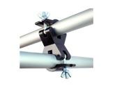DOUGHTY • Collier double fixe 90° noir Ø 50 mm max 750 kg-structure--machinerie