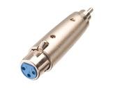Adaptateur • XLR 3 points femelle - RCA mâle-cablage