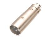 Adaptateur • XLR 3 points mâle - RCA femelle-cablage
