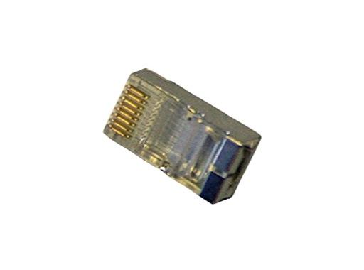 Fiche • RJ45 blindée 8 contacts pour câble rond ou plat