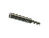 Fiche • Jack stéréo 6,35mm femelle métal-cablage