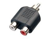 Adaptateur • RCA mâle - 2 x RCA femelle-cablage