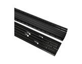 TEMA OFFICE • Passage de câbles noir 4 canaux 870 x 120 x 21 mm