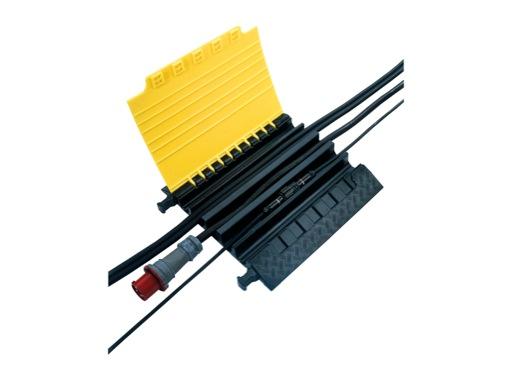 TEMA XL • Passage de câbles 5 canaux 700 x 696 x 87 mm