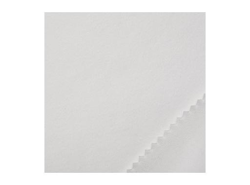 MOLLETON SATIN TITANS • Blanc - 300 cm 320 g/m2 M1