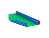 ROSCO TAPIS DE DANSE DANCE FLOOR • Bleu / Vert Incruste Vidéo largeur 1,60m - pr-textile