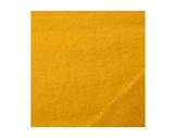 Coton gratté Jaune Safran - 260cm 140g/m2 M1 ignifugé - THEMIS-textile