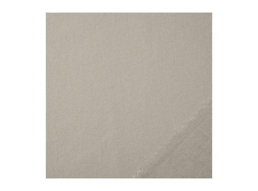 Coton gratté Gris clair - 300cm 160g/m2 M1 ignifugé - THESÉE