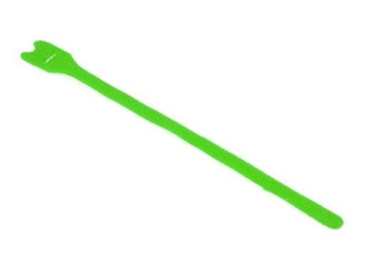 Attache velcro • rouleau de 20 velcros verts 25/300 mm
