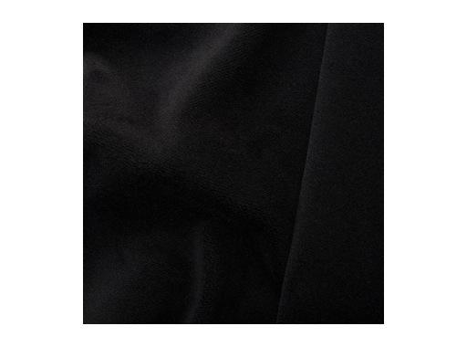 VELOURS JUPITER • Noir - Trévira CS M1 -140 cm 500 g/m2