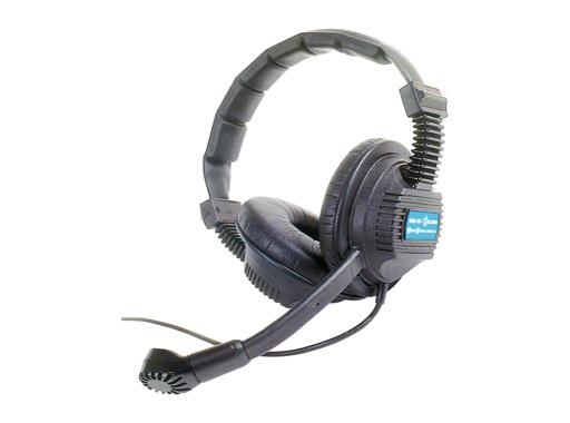ALTAIR • Casque 2 oreilles pour intercom HF