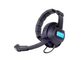 ALTAIR • Casque 1 oreille pour intercom HF + câble mini XLR4-intercoms-hf