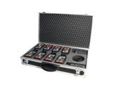 ALTAIR • Flight case vide pour 8 postes WBP210/212 et 2 chargeur-accessoires