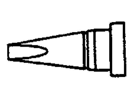 WELLER • WS81 Panne tournevis 1,6mm courte LTA