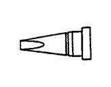 WELLER • WS81 Panne tournevis 1,6mm courte LTA-soudage