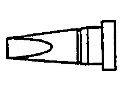 WELLER • WS81 Panne tournevis 2,4mm courte LTB
