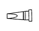 WELLER • WS81 Panne tournevis 2,4mm courte LTB-soudage