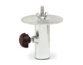PROTRUSS • Coupelle pour tube Ø 35 mm avec tourelle Ø 110 mm, boulon M10-accessoires