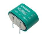 BATTERIE • Batterie à souder sur CI 3,6V, 150mAh Ni/MH-controle