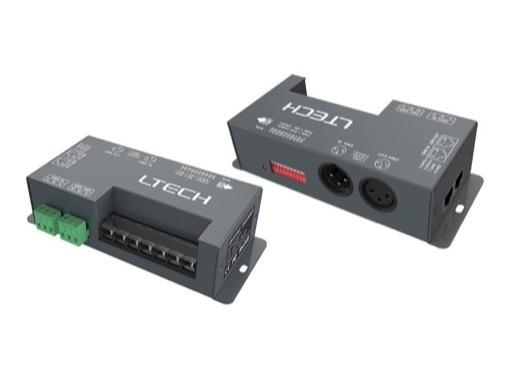 ESL • Driver ledstrip boitier métal 4 canaux DMX RGBW 4x5A