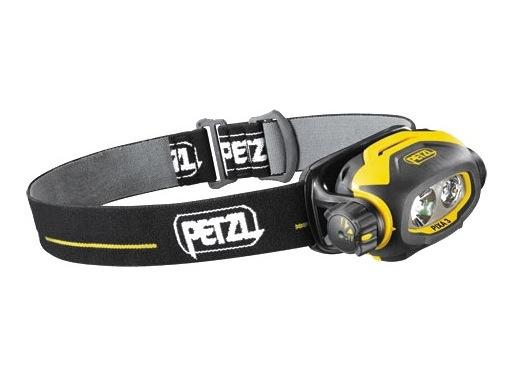 PETZL • Lampe frontale PIXA3 noire / jaune 2 power LEDs 3 modes éclairage