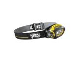 PETZL • Lampe frontale PIXA3 noire / jaune 2 power LEDs 3 modes éclairage-consommables