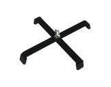 Pied de sol noir • charge 15kg L 23cm H 3cm M10-pieds-de-sol