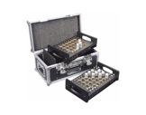 Flight case pour manchons et goupilles coniques 2 plateaux - DURATRUSS-accessoires