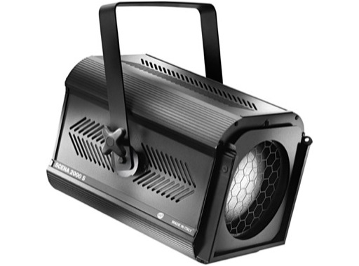 DTS • New SCENA PC antihalo noir 2000W lampe GY16 9/50°