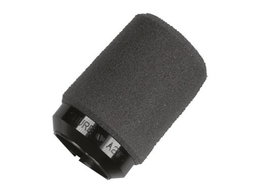 SHURE • Bonnette noire professionnelle pour micro SM57