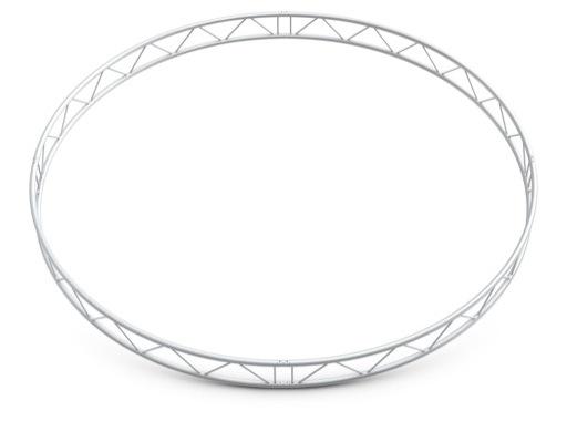 QUICKTRUSS • Duo M290 cercle vertical ø3.00m 4 segments + kits de jonction